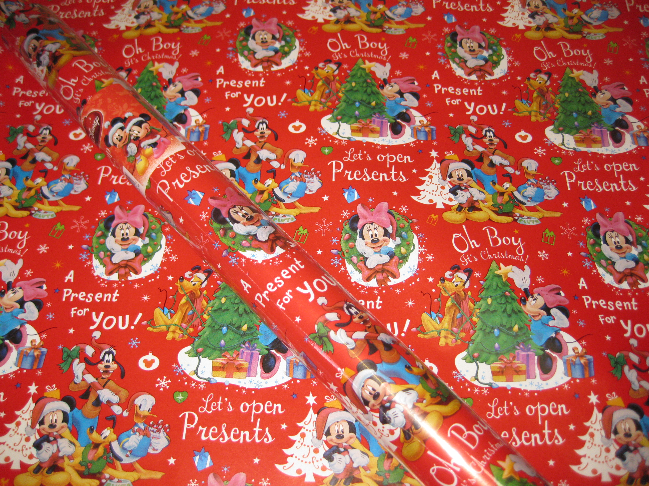 disney wrapping paper Do disney gift wrap, ie with birthday paper it's my little girls birthday when we're  there and i'd like to buy her pressies whilst there and have.