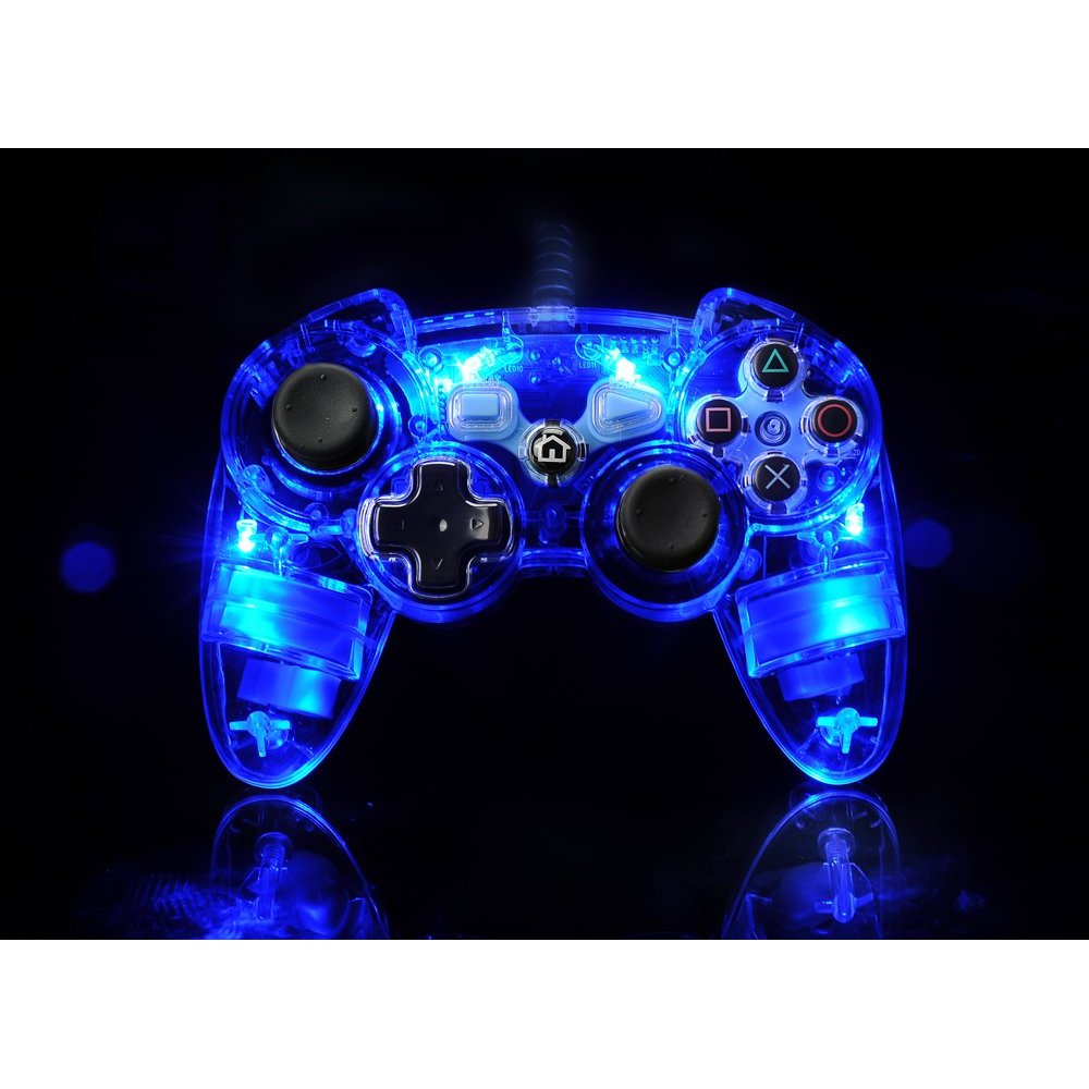 ps3 afterglow light up controller   official   new ebay