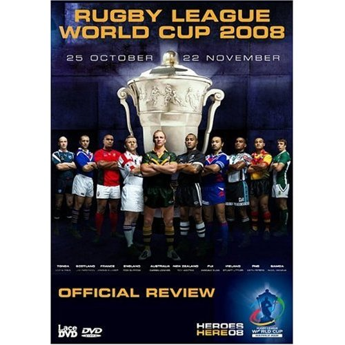 Rugby League World Cup 2008 - NEW DVD Enlarged Preview