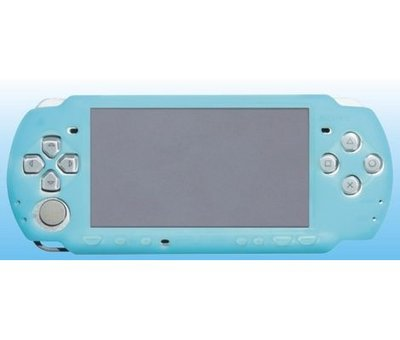 View Item PSP Ultra Slim Upgrade Guard Skin for PSP-3000 Clear Blue