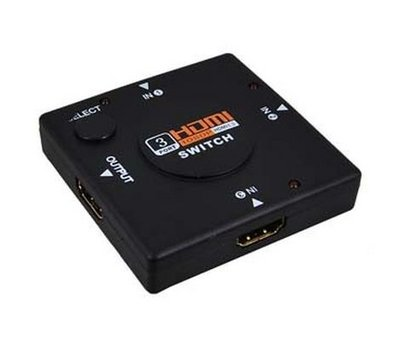 View Item Video 3-Port Mini HDMI Switch