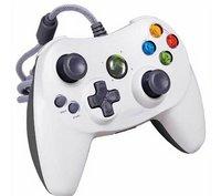 Xbox 360 Wired Joytech Controller Joypad (White)