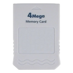 View Item Gamecube 4MB Memory Card (Wii compatible)