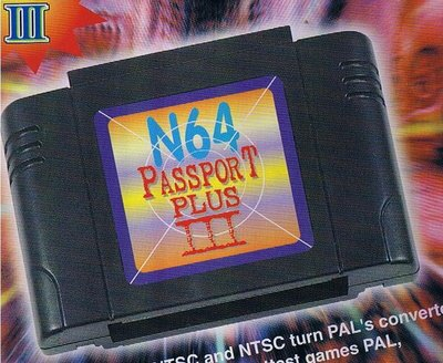 View Item N64 Passport III+ Plus