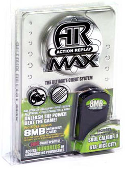 View Item Xbox Action Replay with 8MB Memory Card/USB Adapter