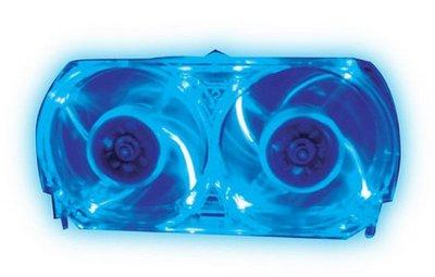 View Item Xbox 360 Talismoon Blue Whisper Fan