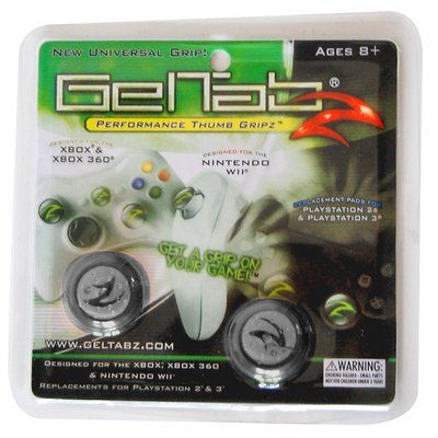 View Item Geltabz for Xbox 360, PS2, PS3, Wii and Xbox (Black)