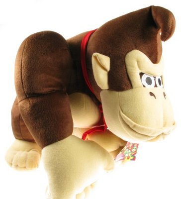 View Item Donkey Kong Plush Soft Doll (51cm)