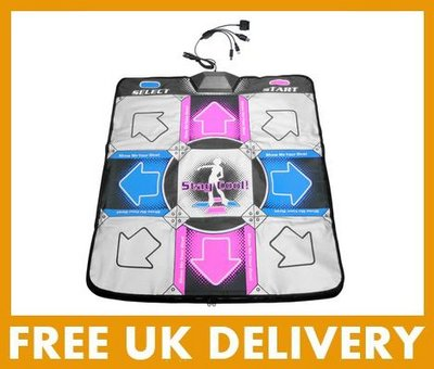 View Item Deluxe Dance Mat (Wii/PS2/PS3/PS1/XBox/PC/GC)