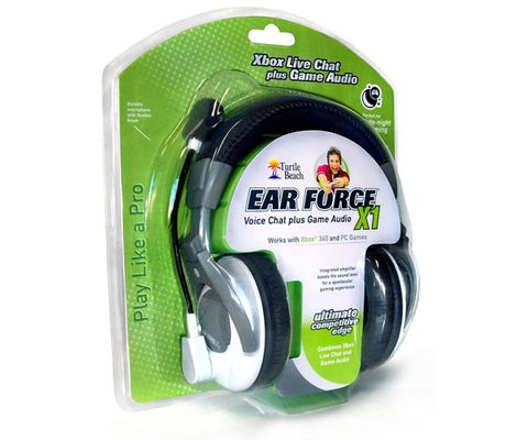 Xbox 360 Live Headset Ear Force X1 (Turtle Beach) Preview