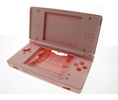 View Item DS Lite Shock! Full Replacement Case (Pink)