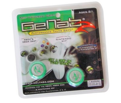 View Item Geltabz for Xbox 360, PS2, PS3, Wii and Xbox (Green)