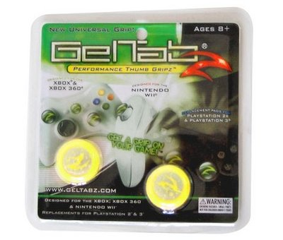 View Item Geltabz for Xbox 360, PS2, PS3, Wii and Xbox (Yellow)