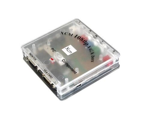 XCM 1080P VGA Box Component to VGA Converter Preview