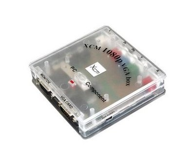 View Item XCM 1080P VGA Box Component to VGA Converter