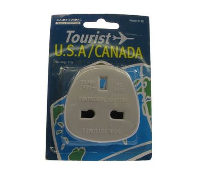 View Item UK to USA / Canada Travel Adaptor Plug