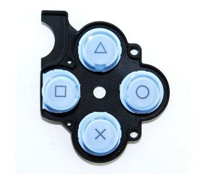 View Item PSP 2000 Slim D-Pad Rubber Buttons (Blue)