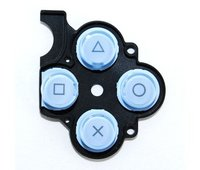 PSP 2000 Slim D-Pad Rubber Buttons (Blue)