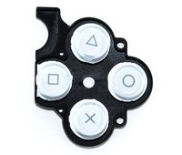 PSP 2000 Slim D-Pad Rubber Buttons (White)