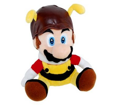 View Item Super Mario Galaxy Toy Plush (Bee Mario)