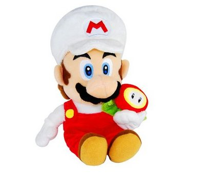 View Item Super Mario Galaxy Toy Plush (Fire Mario)