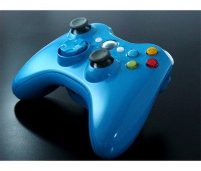 View Item Xbox 360 XCM Wireless Controller Shell w/ D-Pad (Blue Blood)