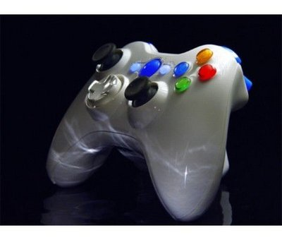 View Item Xbox 360 XCM Wireless Controller Shell w/ D-Pad (Piano White)