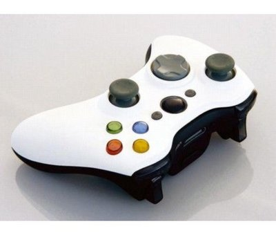 View Item Xbox 360 XCM Wireless Controller Shell with D-Pad (White & Black)
