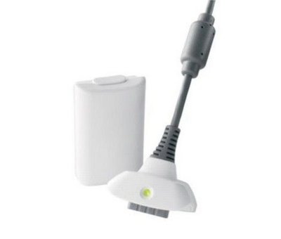View Item Xbox 360 Play and Charge Kit (White)