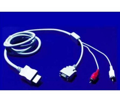 View Item Nintendo Wii D-Sub Cable
