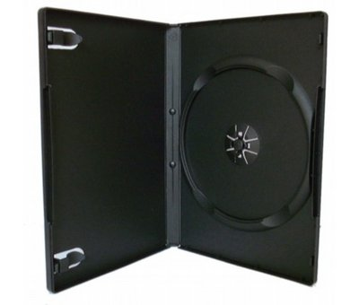 View Item Black DVD Case x10
