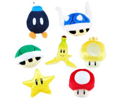 View Item Mario Kart Plush
