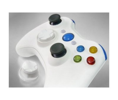 View Item Xbox 360 Wireless Controller Shell (All White)