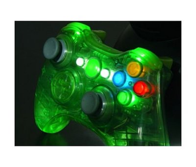 View Item Xbox 360 Wireless Controller Shell (Halo Green)