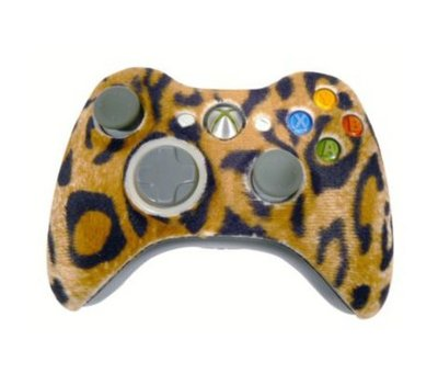 View Item Evolve Leopard Fur Xbox 360 Controller Faceplate