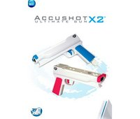 Wii Accushot Ultimate Gun X2 (Red/Blue)