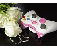 Wireless Xbox 360 Controller Shell with New D-Pad (Pink Lady)