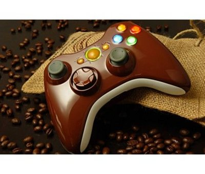 View Item XCM Wireless 360 Controller shell with new D-Pad (Coffee Brown)