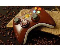 XCM Wireless 360 Controller shell with new D-Pad (Coffee Brown)