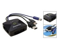 3 in 1 Converter PSx/PS2 to PC USB/X-Box/Gamecube