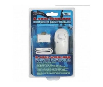 View Item 2.4GHz Wireless Nunchuk Controller for Wii