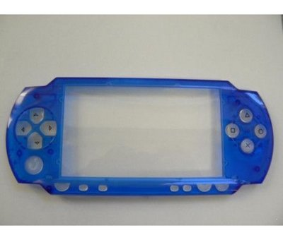 View Item Evolve Face Plate for PSP Crystal Blue