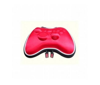 View Item Red Controller Airfoam Pouch for the Xbox 360