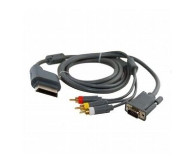 View Item VGA 3RCA Cable for Xbox 360