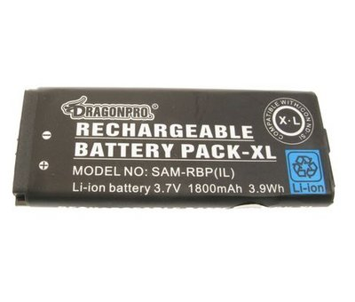 View Item DSiXL Rechargable Battery Pack