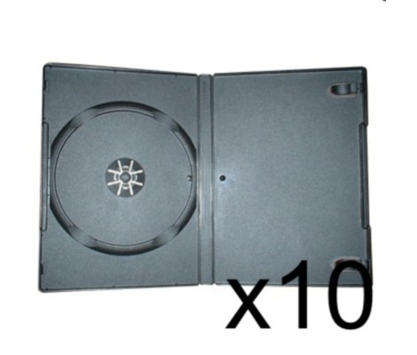 10 x DVD CaseS 7MM Black Preview