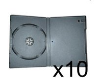 10 x DVD CaseS 7MM Black