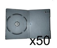 50 x DVD Case 7MM Black