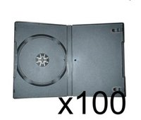 100 x DVD Case 7MM Black