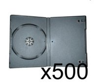500 x DVD Case 7MM Black